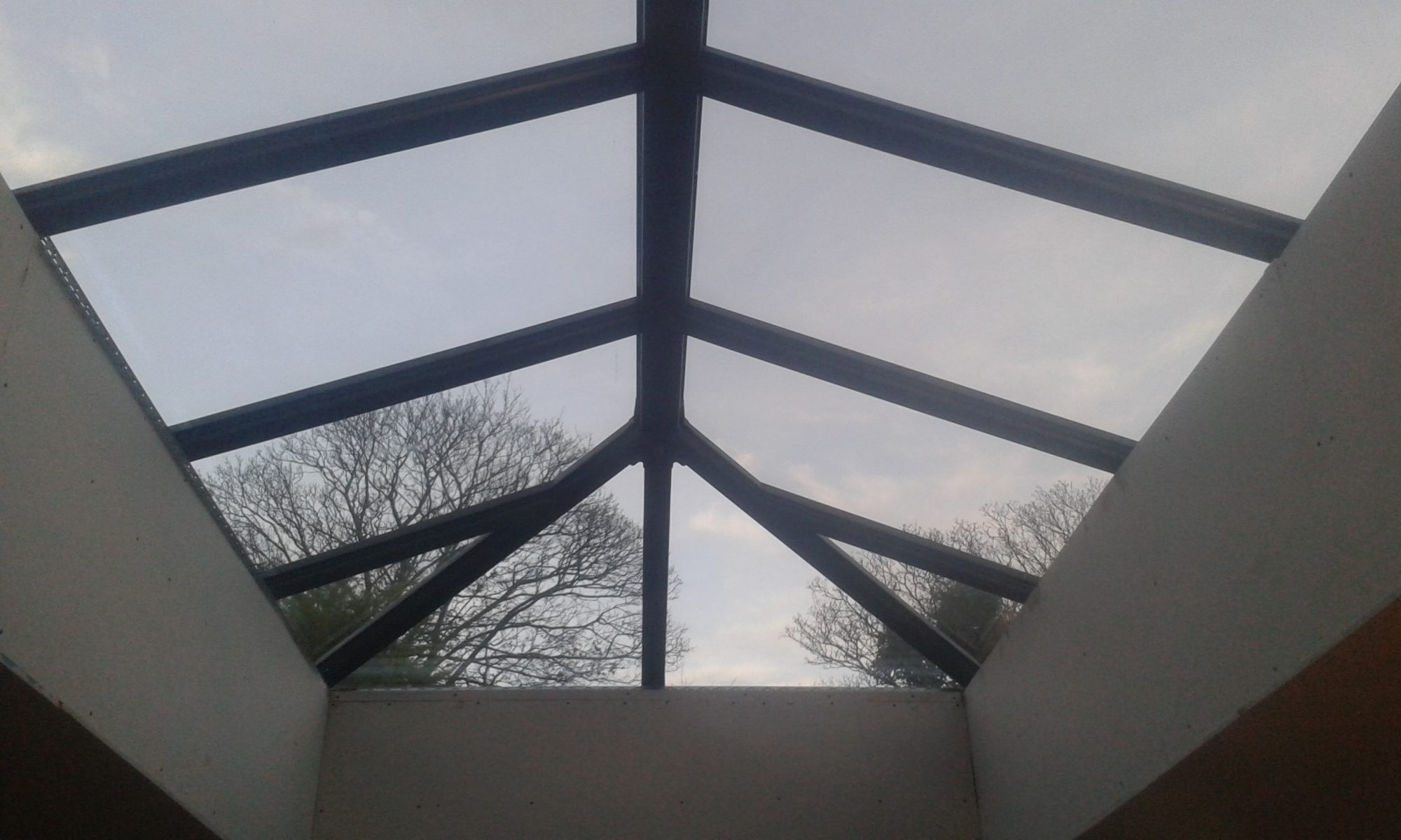 Skypod Roof Lantern - Anthracite Grey Interior