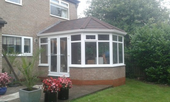 Victorian Tiled Conservatory Roof - Guardian Warm Roof