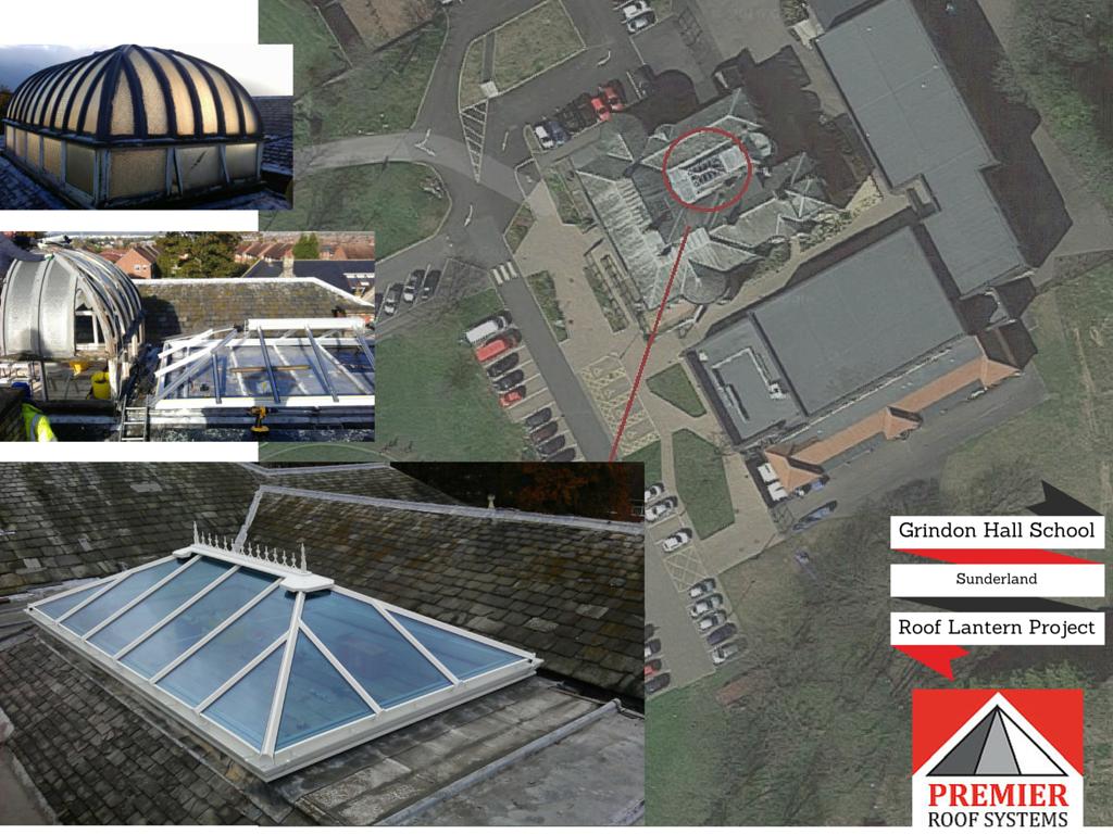 Grindon Hall Christian School Roof Lantern Premier