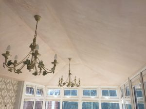 Edwardian Tiled Conservatory Roof - Guardian Warm Roof - Interior
