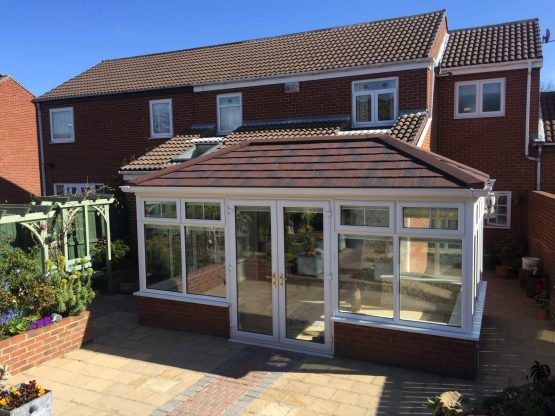 Edwardian Tiled Conservatory Roof - Guardian Warm Roof