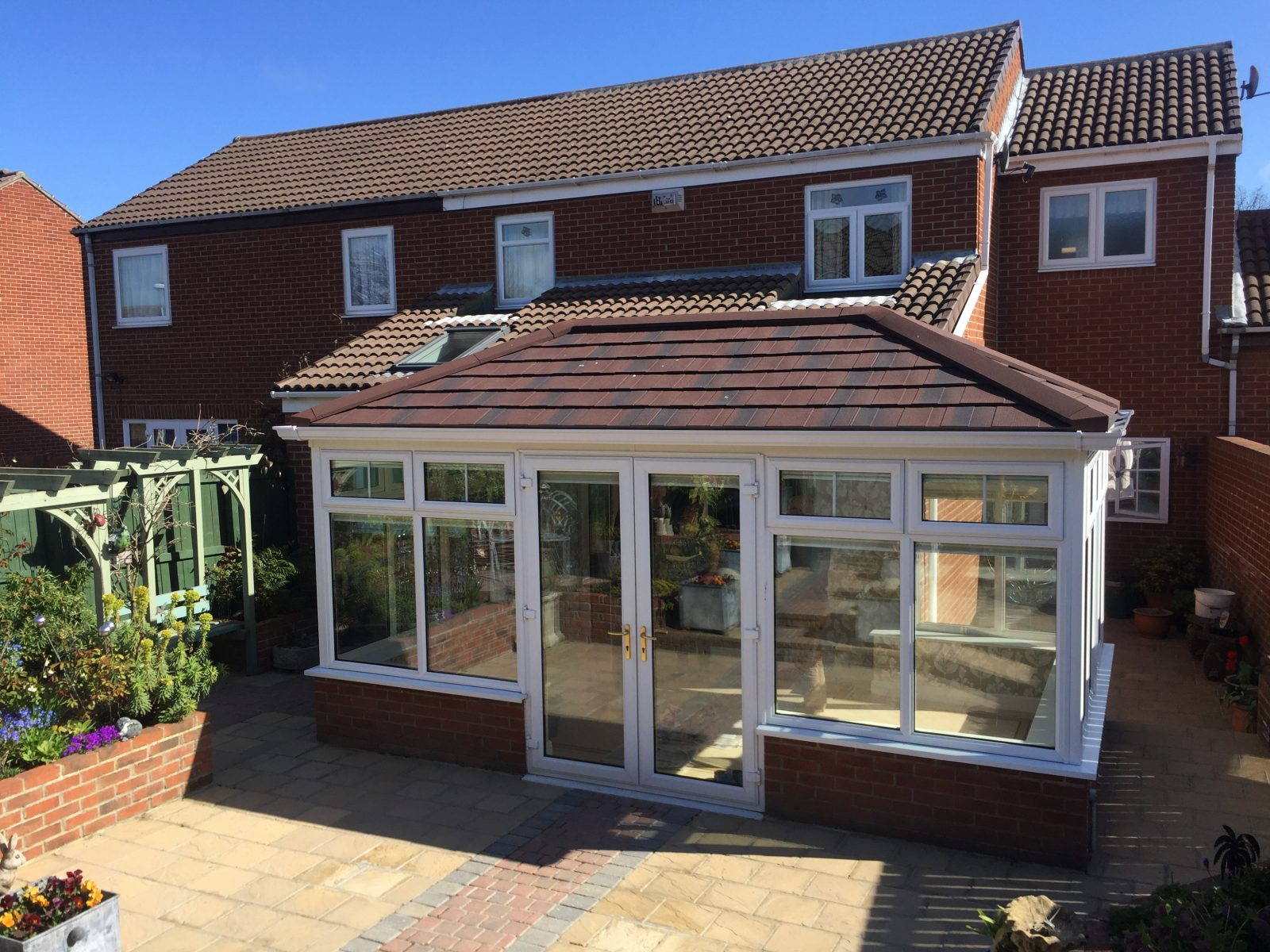 Replacement Conservatory Roof Guardian Warm Roof
