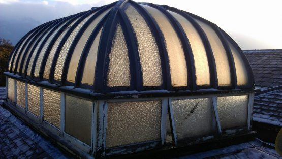 Roof Lantern Project - Grindon Hall Christian School - Sunderland