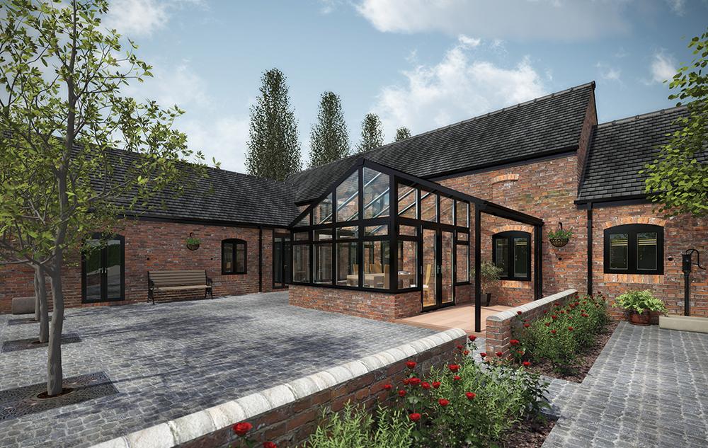 Bespoke Glass Conservatory - Exterior