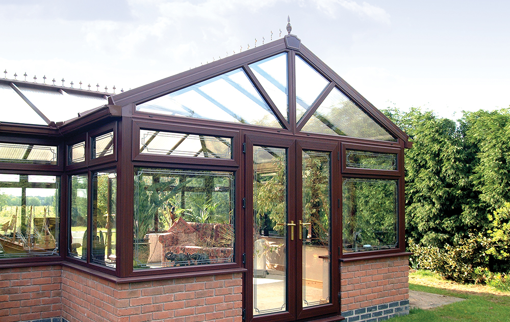 Gable End Polycarbonate Conservatory - Exterior