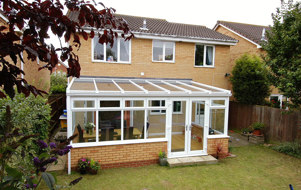 Lean To Glass Conservatory - Exterior