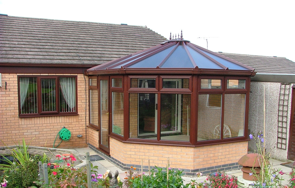 Victorian Polycarbonate Conservatory - Exterior