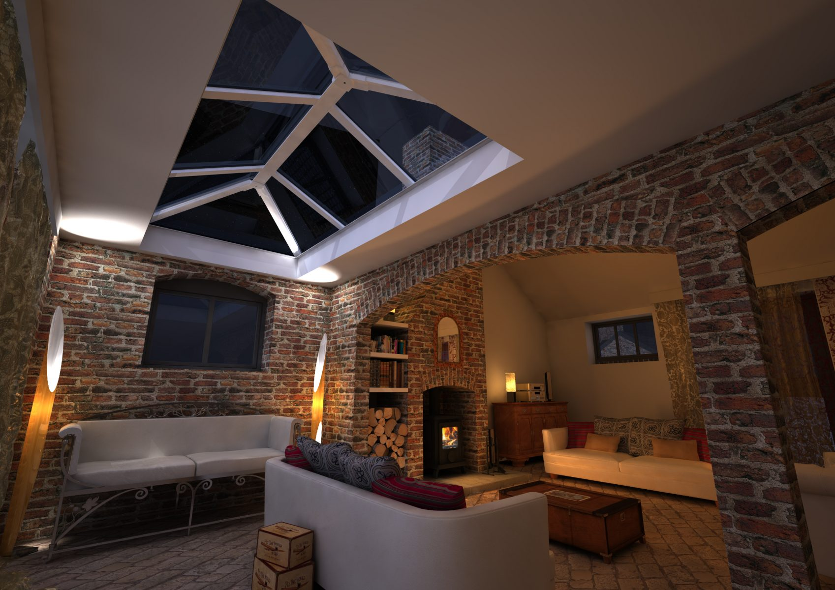 Skypod Skylights - Interior