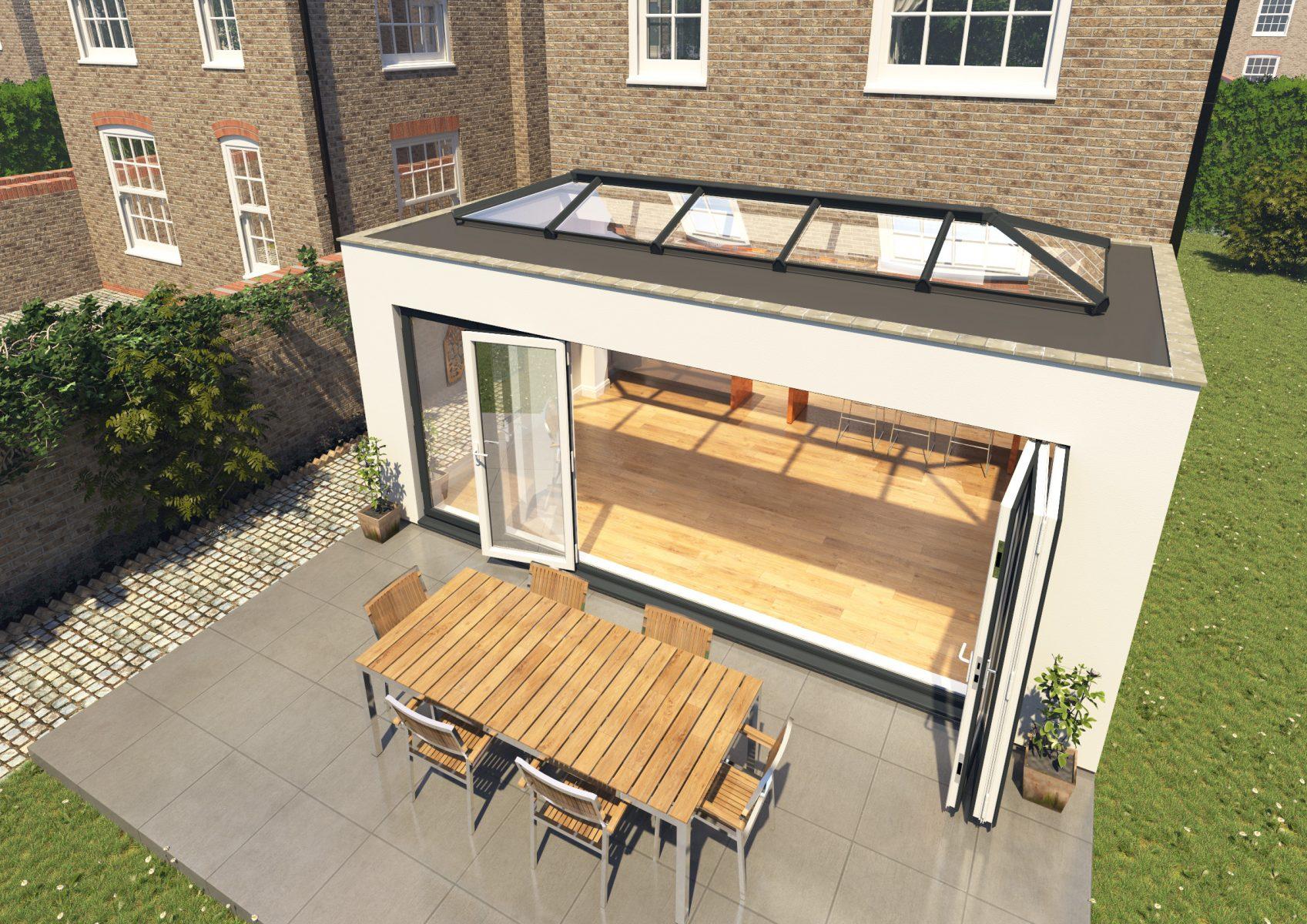 Skypod Roof Lantern - Exterior