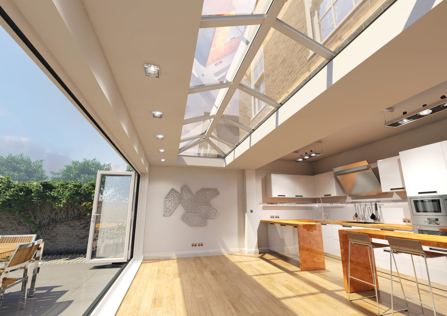 Skypod Roof Lantern - Interior