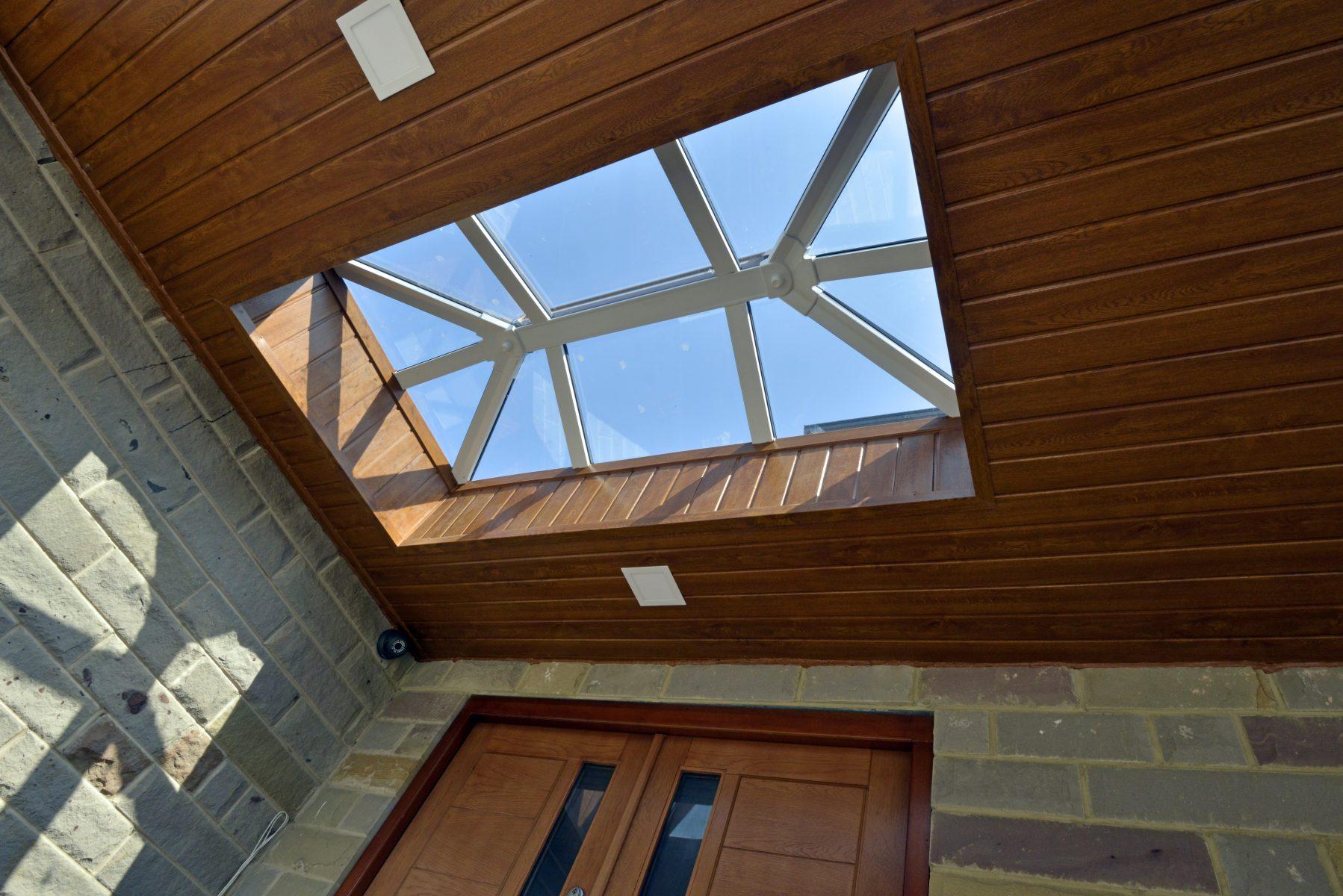 Skypod Roof Lantern - White Interior