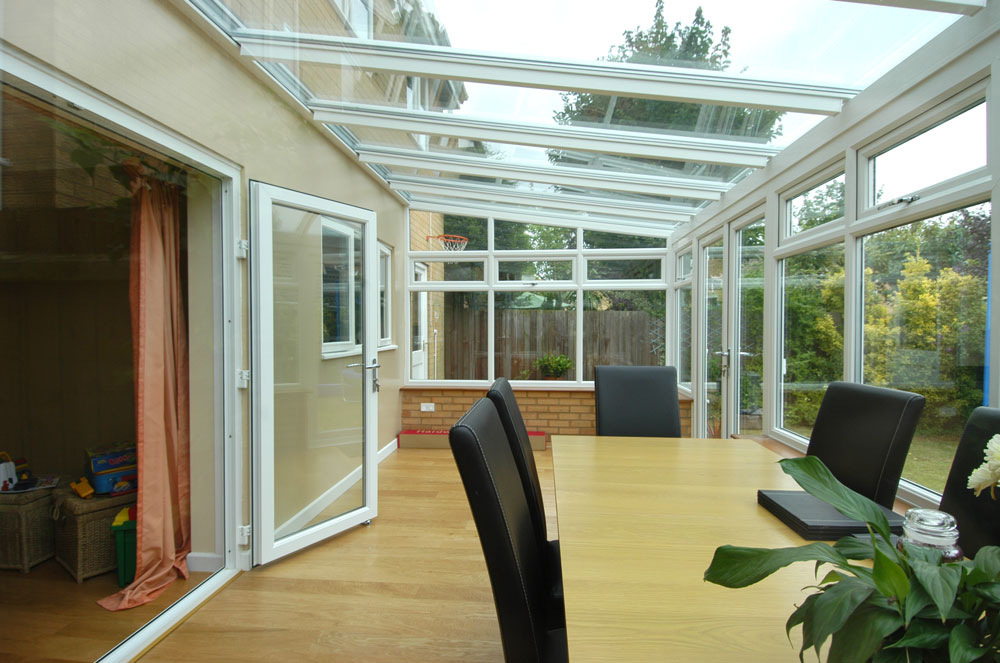 Lean To Glass Conservatory - Interior