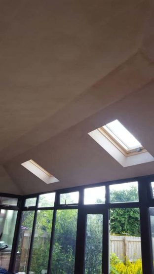 Double Hipped Guardian Warm Roof - Interior