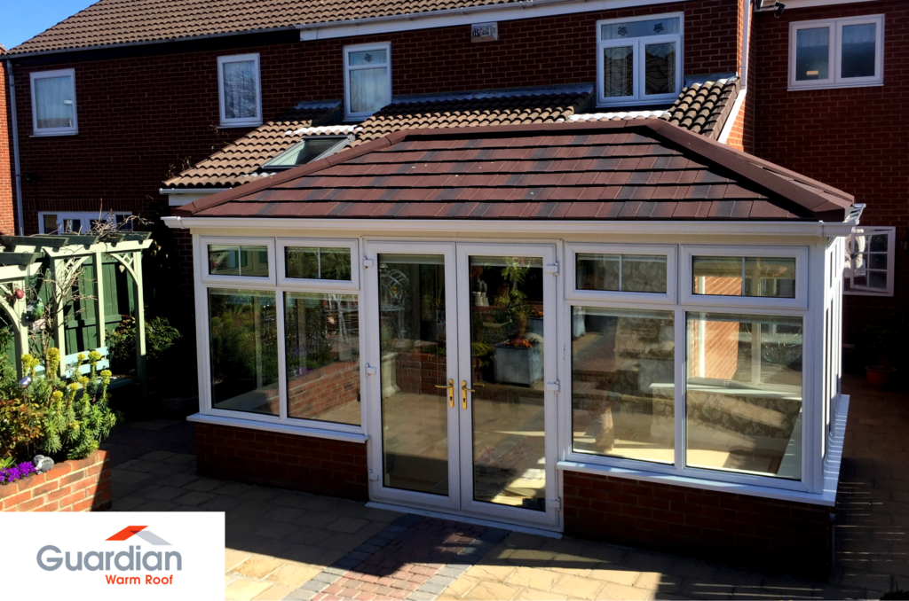 Guardian Warm Roof Solid Conservatory Roof Replacement Tiled Conservatory Roof