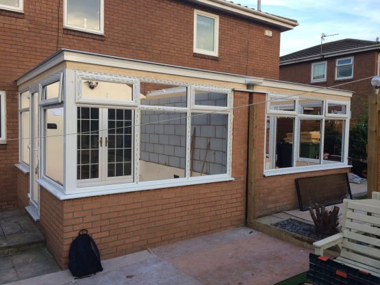 Replacing Polycarbonate Conservatory Roof to Tiled Conservatory Roof - Edwardian