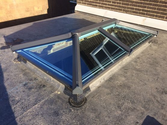 Skypod Skylights - Anthracite Grey