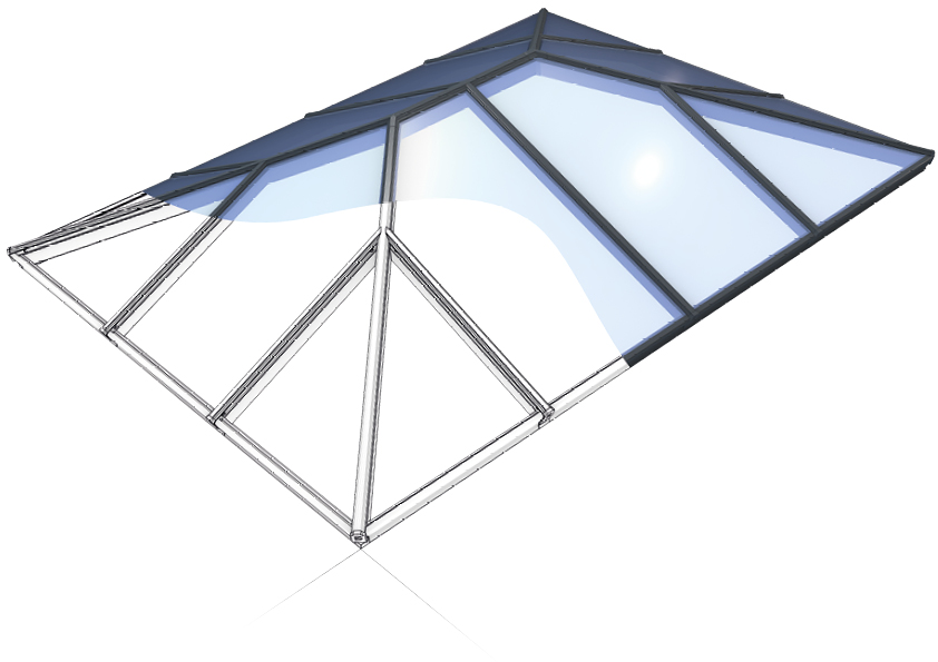 conservatory roofs roof lanterns windows and doors. Black Bedroom Furniture Sets. Home Design Ideas
