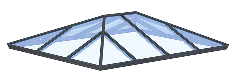 Aluminium Roof Lantern (Korniche)