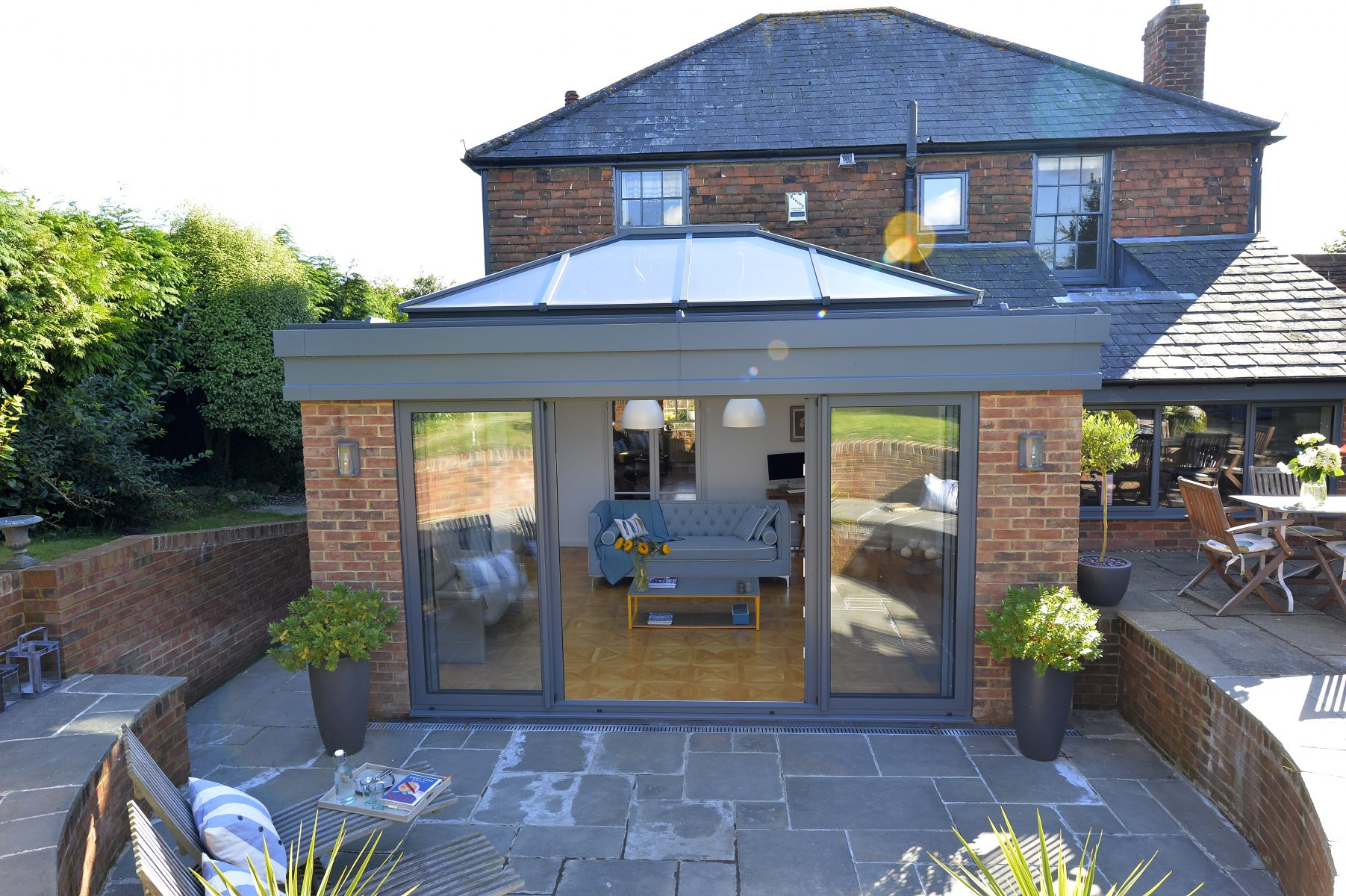Atlas Aluminium Roof Lantern Orangery solutions