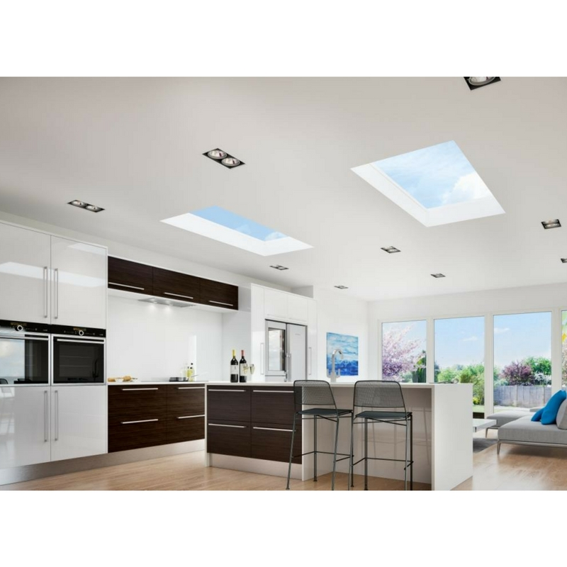 Flat Kitchen Ceiling Lights: Atlas Aluminium Flat Rooflight