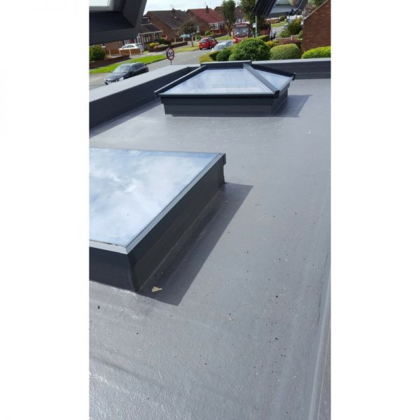 Atlas Aluminium Flat Rooflight and Atlas Aluminium Roof Lantern