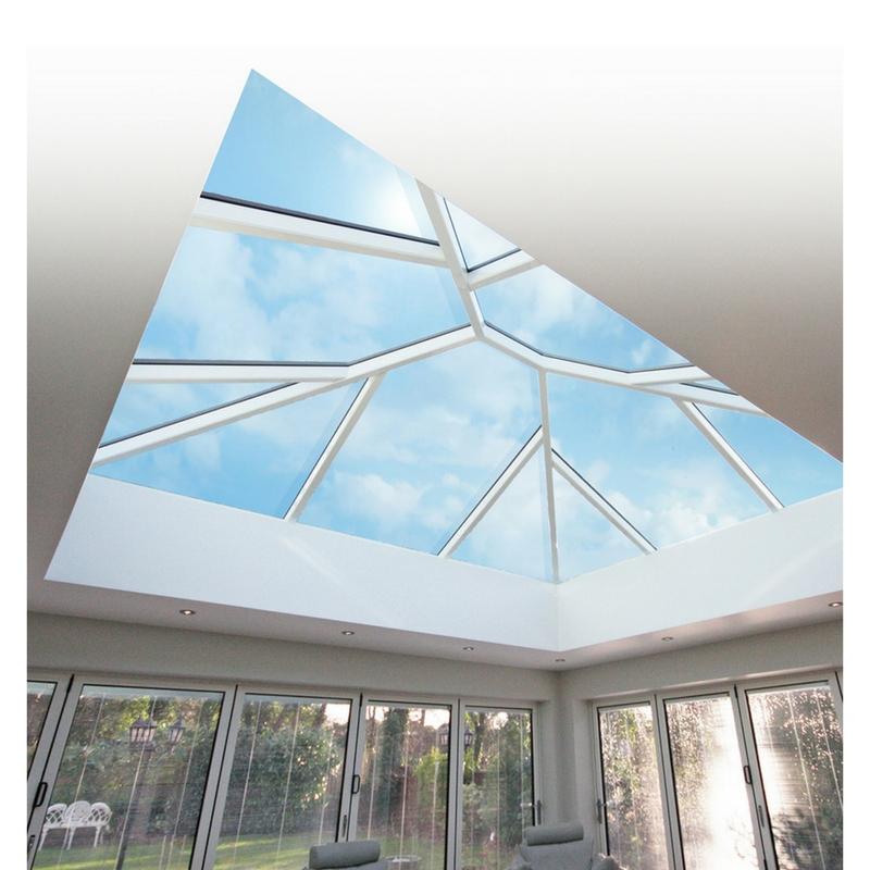Conservatory Roof Lanterns And Rooflights: Korniche Aluminium Roof Lantern