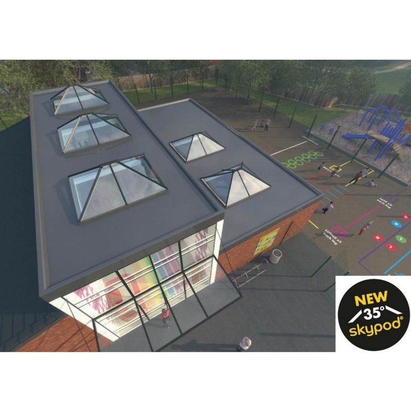 Skypod Acute Skypod Roof Lanterns Shop Premier Roof