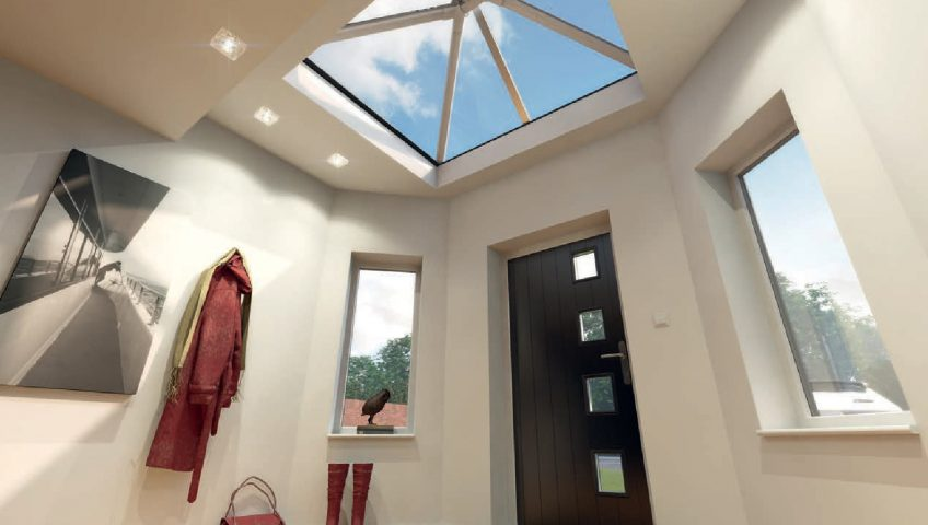 Skypod Acute Roof Lantern - Internal