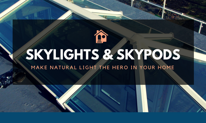 Skypod Skylights installation