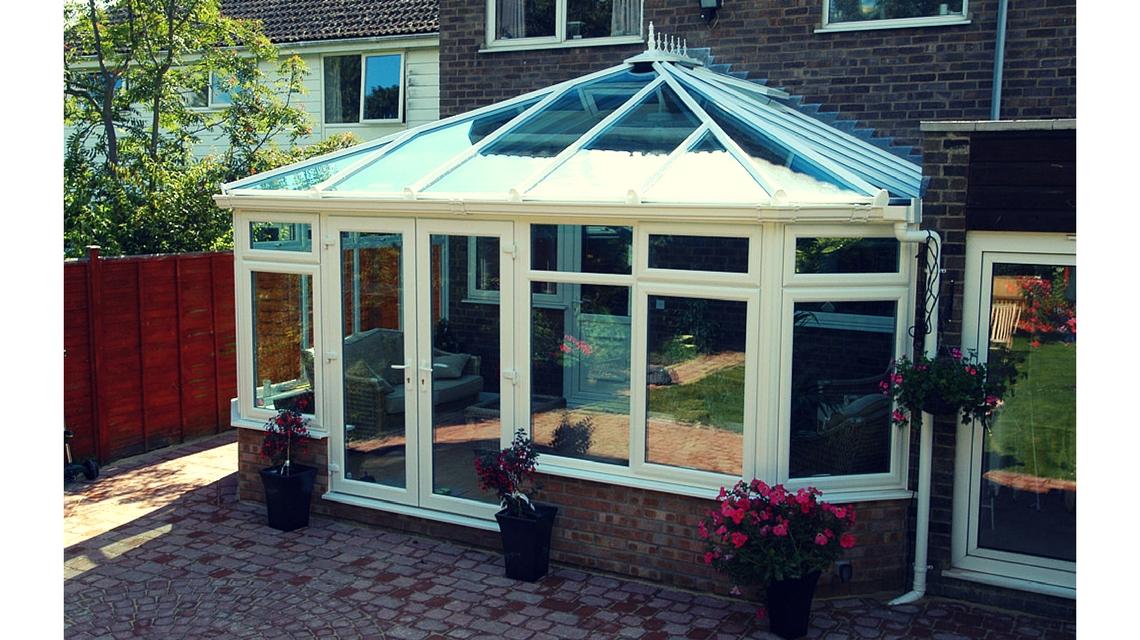 Glazed Conservatory Roofs Eurocell Upvc Aluminium