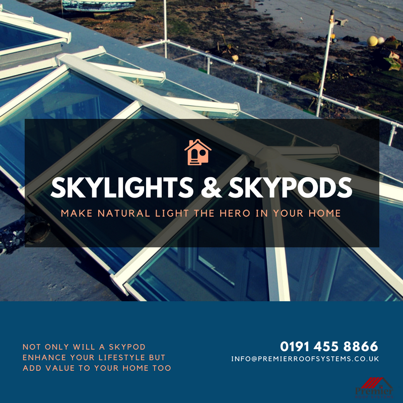 New And Innovative Skypod Skylights Roofing Material