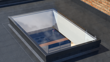 Ultraframe Ultrasky Flat Rooflight